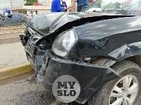 Серьезное ДТП на Зеленстрое: водитель «девятки» от удара вылетел из машины, Фото: 4
