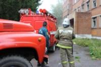 В Скуратово загорелось заброшенное училище, Фото: 5