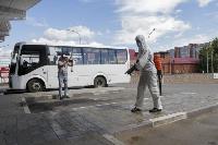 Тульские спасатели продезинфицировали автовокзал «Восточный», Фото: 29