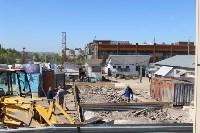 В Туле снесли часть рынка «Южный», Фото: 3