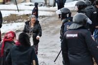 Бунт в цыганском поселении в Плеханово, Фото: 43