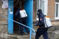 Дезинфекция в Пролетарском округе Тулы, Фото: 5