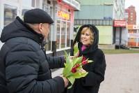 Пролетарский глава Сергей Шестаков поднял тулячкам настроение, Фото: 34