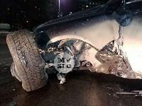 На ул. Вильямса в Туле у Volkswagen Touareg оторвало колесо, Фото: 8