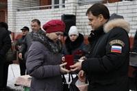 Владимир Груздев в Белевском районе. 17 декабря 2013, Фото: 7