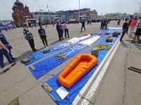 День Тульской дивизии ВДВ: на площади Ленина приземлились парашютисты, Фото: 110