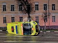 ДТП с автомобилем реанимации в центре Тулы, Фото: 9