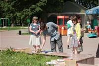 В Туле прошел флешмоб «Читающий парк», Фото: 24
