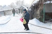 Пожар в жилом бараке, Щекино. 23 января 2014, Фото: 15