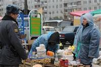 Стихийный рынок на ул. Пузакова, Фото: 4