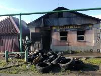 Пожар на ул. М. Горького в Туле, Фото: 4