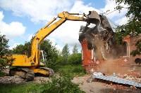 В Плеханово продолжается снос незаконных цыганских построек, Фото: 102