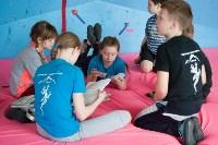 Соревнования на скалодроме среди детей, Фото: 7