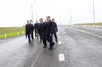 В Суворовском районе  введен в эксплуатацию участок автодороги «Калуга-Перемышль-Белёв-Орёл», Фото: 35