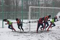 «Арсенал» готовится на снежном поле к игре против «Тосно», Фото: 18