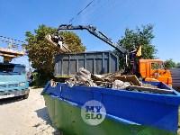 В Туле со двора «Плюшкиной» вывезли несколько грузовиков мусора, Фото: 2