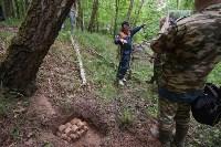 В лесу под Тулой поисковики нашли тайник с гранатами, Фото: 42