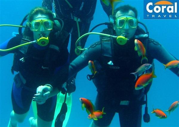 ...и под водой, незабываемый отдых с Coral Travel- ТВОЙ!  Coral Travel, помоги нам приумножить впечатления и найти место для их хранения!))