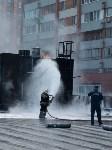 Загорелся недостроенный ТЦ на Красноармейском проспекте, Фото: 55
