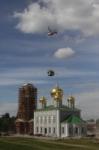 Установка шпиля на колокольню Тульского кремля, Фото: 16