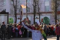 Эстафета Олимпийского огня. Новомосковск, Фото: 16