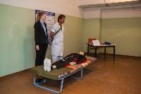Учения МЧС в убежище ЦКБА, Фото: 42