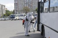 Тульские спасатели продезинфицировали автовокзал «Восточный», Фото: 18