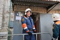 У дома, поврежденного взрывом в Ясногорске, демонтировали опасный угол стены, Фото: 25