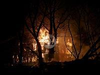 Крупный ночной пожар в Туле, Фото: 7