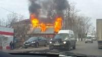 На Одоевском шоссе сгорел дом, Фото: 2