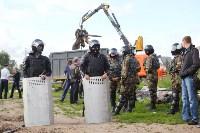 В Плеханово продолжается снос незаконных цыганских построек, Фото: 5