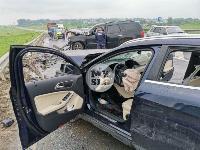 В серьезном ДТП на М-2 в Туле пострадали три человека, Фото: 10