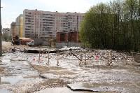 Провал грунта на Замочной и Осташева, Фото: 7