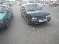 На Новомосковском шоссе столкнулись три автомобиля, Фото: 6