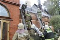 Пожар в доме по ул. Рабочий проезд. 27 сентября, Фото: 17