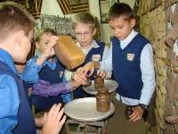 Тульские школьники попробовали фронтовой хлеб, Фото: 10