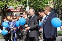 Тульская Федерация профсоюзов провела митинг и первомайское шествие. 1.05.2014, Фото: 51