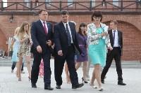 Груздев оценивает ход реставрации в Кремле. 22.06.2015, Фото: 5