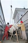 Утром 15 ноября в Тулу привезли шпиль для колокольни Успенского собора, Фото: 17