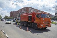 Прочистка ливневок на Красноармейском проспекте, Фото: 2