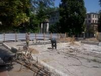 В Туле ремонтируют фонтан возле драмтеатра, Фото: 5