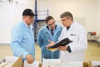 Дмитрий Миляев посетил предприятие по производству замороженной рыбы и полуфабрикатов, Фото: 9
