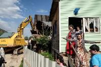 Плеханово, итоги дня: В таборе принудительно снесли первые 10 домов, Фото: 6