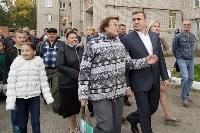 Алексей Дюмин посетил дом в Ясногорске, восстановленный после взрыва, Фото: 41