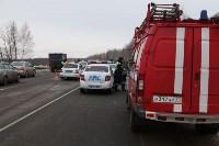 ДТП на трассе М2 12.03.18, Фото: 15