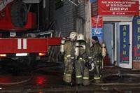 На ул. Оборонной в Туле сгорел магазин., Фото: 28