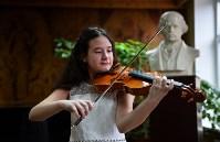 Юная скрипачка Екатерина Щадилова, Фото: 1