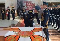 Церемония крепления Боевого знамени к древку, Фото: 6