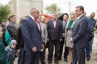 Алексей Дюмин посетил дом в Ясногорске, восстановленный после взрыва, Фото: 9