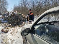Под Тулой неизвестные сбросили в лесополосе несколько тонн гнилых овощей, Фото: 15
